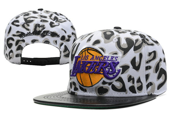 Los Angeles Lakers Snapback Hat XDF 6